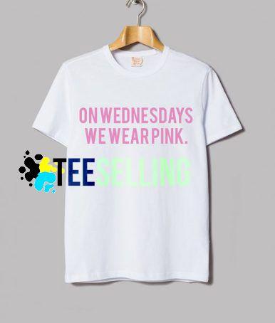 On Wednesdays we Wear Pink T-shirt Unisex