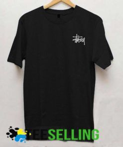 Stussy logo black T-shirt Adult Unisex For men and women