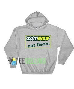 zombies eat flesh