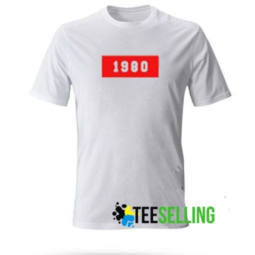 1980 T shirt Adult Unisex
