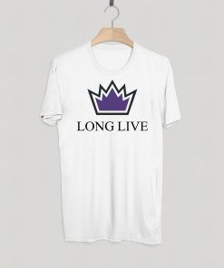 Sacramento king long live T-shirt Adult Unisex