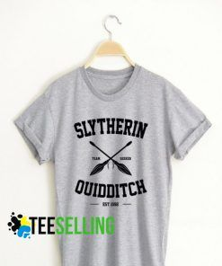 Slytherin Quidditch T shirt Adult Unisex