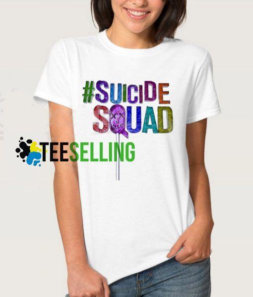 Suicide Squad T shirt Adult Unisex