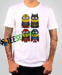 Minion Superhero T shirt Adult Unisex