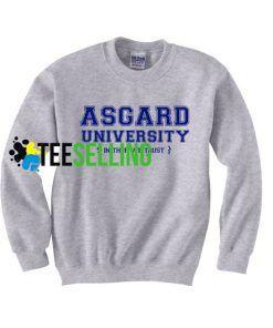 asgard university sweatshirt