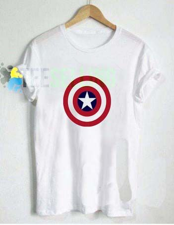 Captain America T shirt Adult Unisex