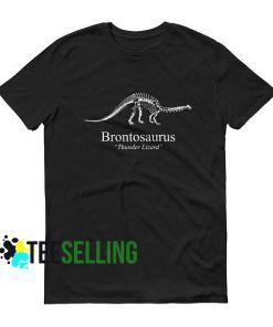 Brontosaurus Dustin T-shirt Adult Unisex