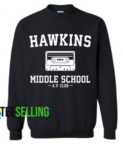 Hawkins Middle School Sweatshirts Unisex Adult