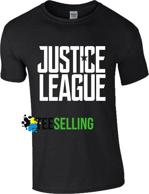 Justice League T shirt Adult Unisex