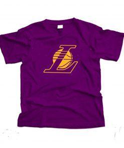 LA Lakers T shirt Adult Unisex