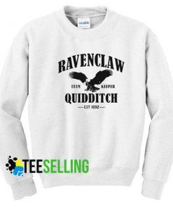 Revenclaw Quidditch Harry Potter Sweatshirts Unisex Adult