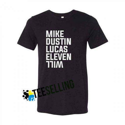 STRANGER THINGS T-shirt Adult Unisex