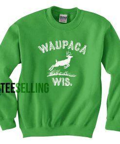 WAUPACA WIS Sweatshirts Unisex Adult