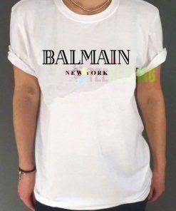 Balmain New York T-shirt Adult Unisex