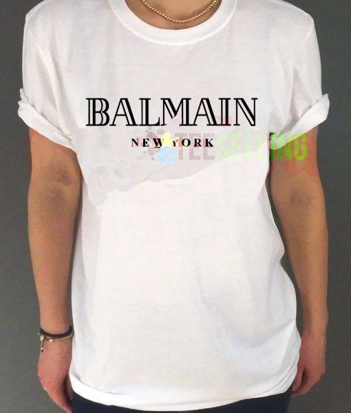 Balmain New York T-shirt Adult Unisex