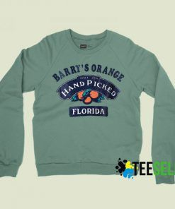 Barry Orange's Hand Picked Florida Sweatshirts Unisex Adult