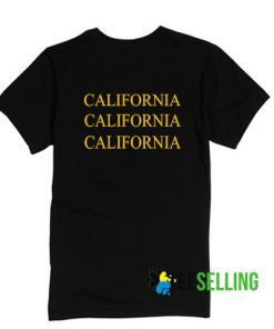 California T-shirt Adult Unisex