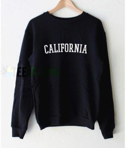CALIFORNIA Sweatshirts Unisex Adult