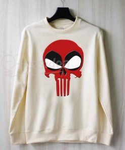 Deadpool Punisher Sweatshirts Unisex Adult