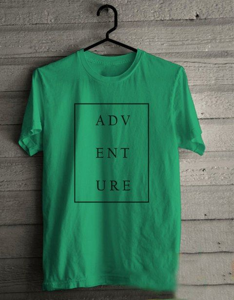 ADVENTURE T shirt Adult Unisex