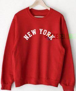 New York Sweatshirts Unisex Adult