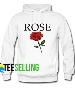 Red Rose Hoodie Adult Unisex