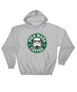 Star Wars and Coffee Hoodie Adult Unisex