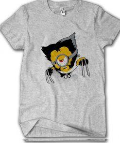 Wolverine Minion T-shirt Adult Unisex