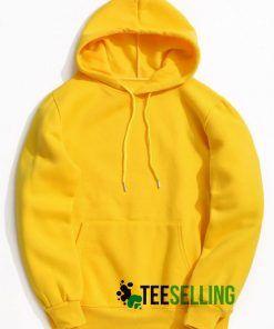 Yellow Hoodie Adult Unisex