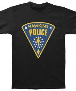 Hawkins Police T-shirt Adult Unisex