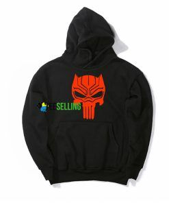 BLACK PANTHER PUNISHER HOODIE Adult Unisex