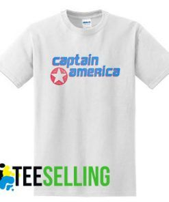 CAPTAIN AMERICA T-shirt Adult Unisex