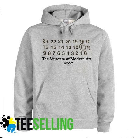 The Museum of Modern Art NYC HOODIE Adult Unisex