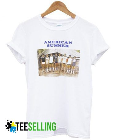 AMERICAN SUMMER T SHIRT ADULT UNISEX