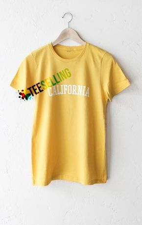 CALIFORNIA T-SHIRT SIZE ADULT UNISEX