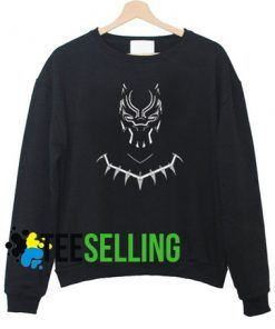 BLACK PANTHER SWEATSHIRT UNISEX ADULT