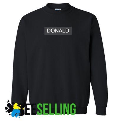 DONALD Sweatshirts Unisex Adult