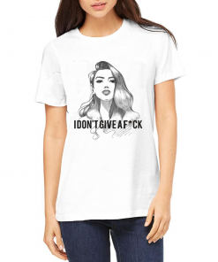 Dua Lipa I don't Give A Fuck T shirt Adult Unisex