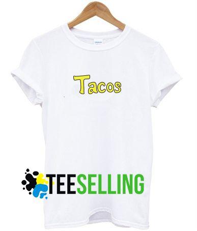 Tacos T shirt Adult Unisex