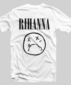 Rihana emotion T-shirt