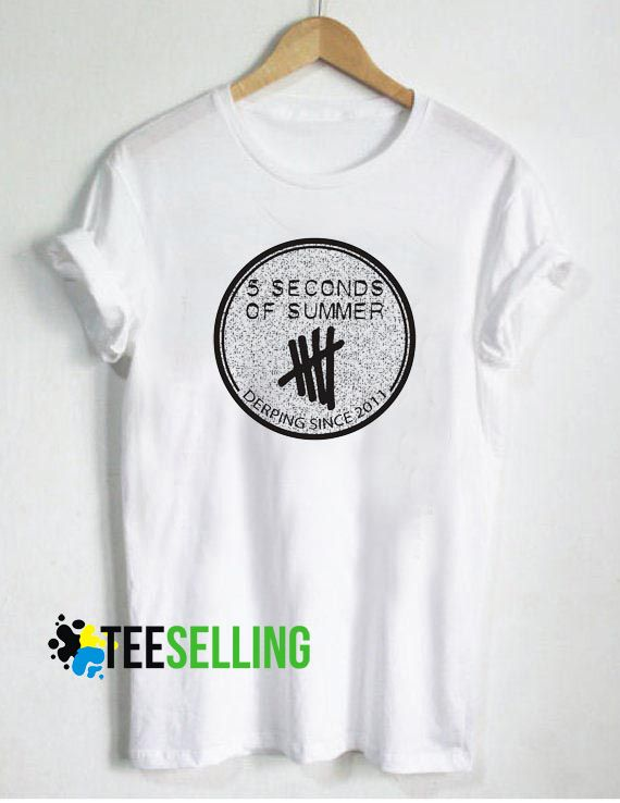 c444720442cf 5 Seconds of Summer T-shirt Unisex Adult Size S-3XL