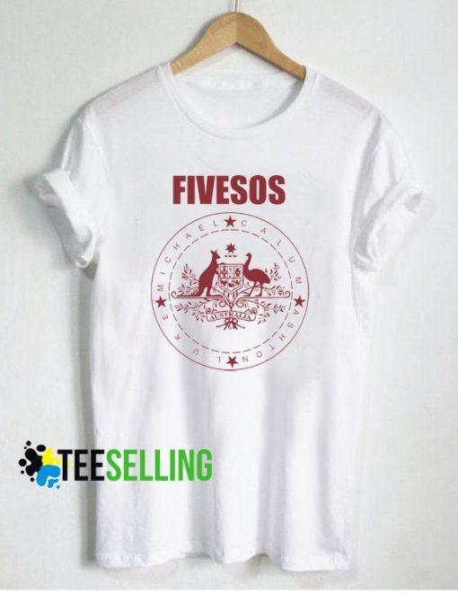 5 Seconds of Summer T-shirt Unisex