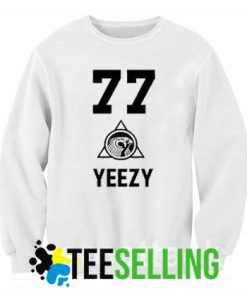 YEEZY 77 Sweatshirt Men and Women Adult Size S to 3xl