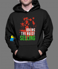 Bring The Noise Deadpool Hoodie Unisex Adult