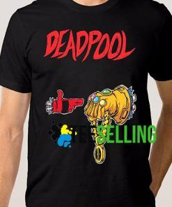 DEADPOOL VS THANOS T-SHIRT UNISEX ADULT