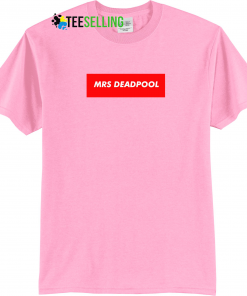 MRS DEADPOOL T-SHIRT UNISEX ADULT