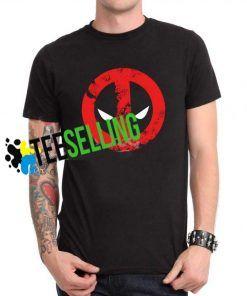 Deadpool Face T-shirt Unisex