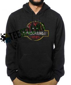 Deadpool Chimichanga Jurrasic Park Hoodie Unisex Adult