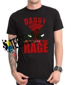 DADDY RAGE DEADPOOL PARK T-shirt Unisex Adult
