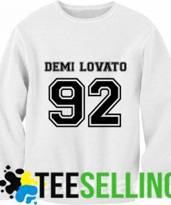 DEMI LOVATO Birthday 92 Sweatshirt